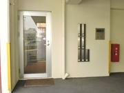 建物入口。安心オートロック!